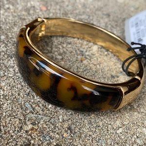Robert Lee Morris Tortoise Gold-Tone Bracelet